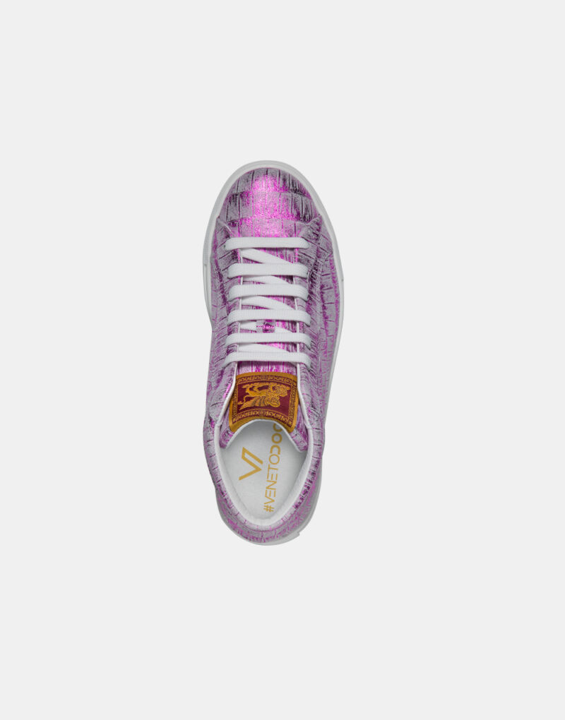 sneakers-veneto-doc-fuxia-alta-sopra