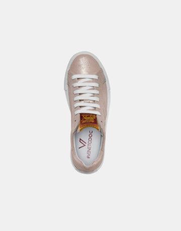 Venetodoc-sneakers-scarpe-shoes-Valdobbiadene-Rose-rosa-chiaro-sopra